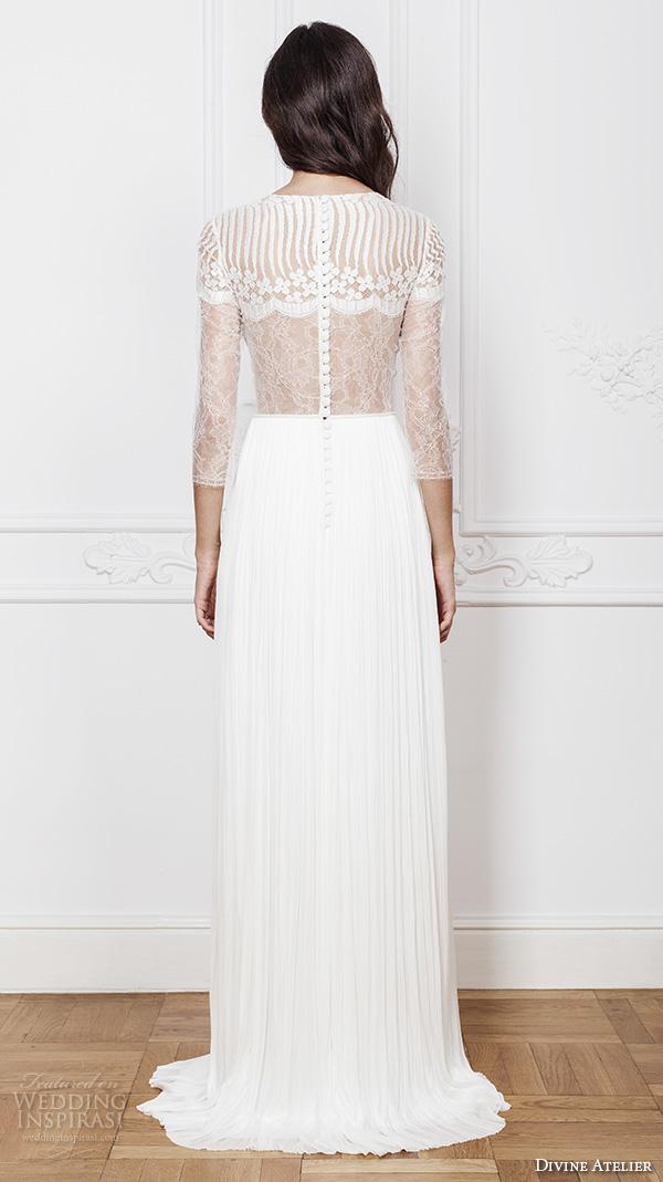 Divine atelier 2016 wedding dresses wedding inspirasi for Wedding dresses straight cut