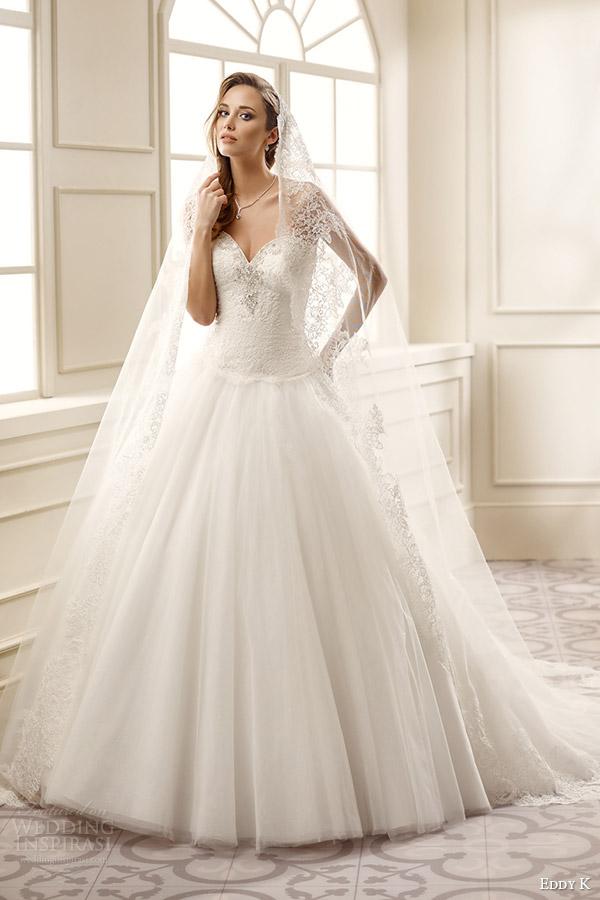 Vestidos novia princesa 2016