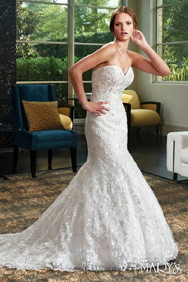 Mary S Bridal Spring 2016 Wedding Dresses Wedding Inspirasi