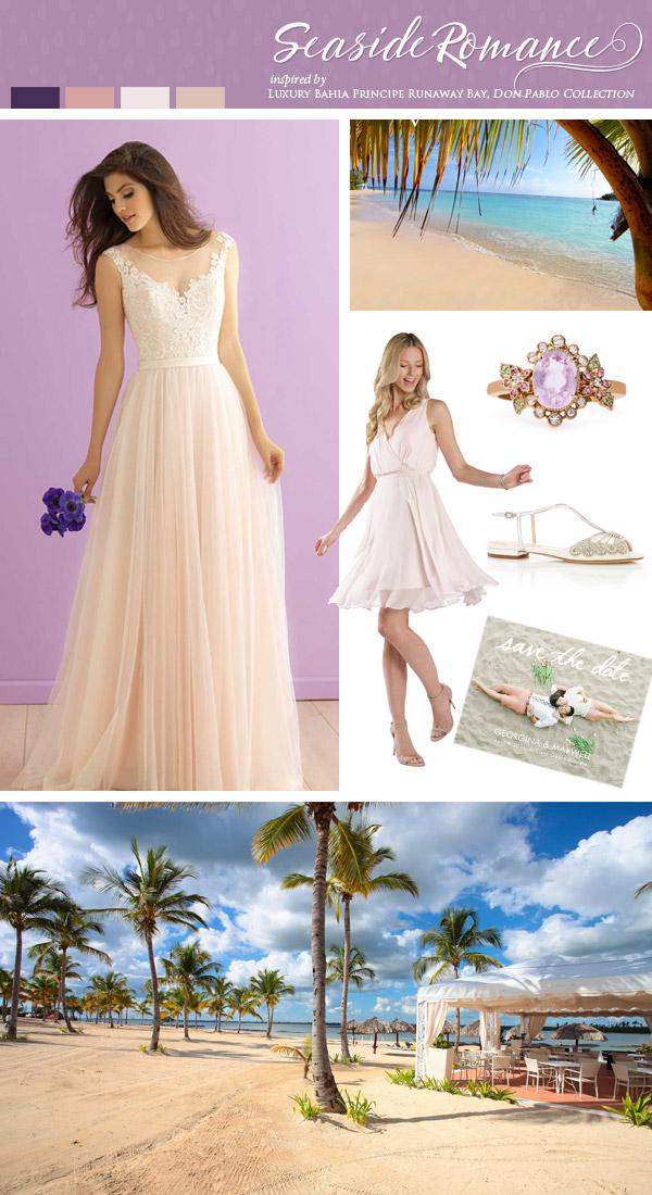 Destination Dresses Beach Wedding 51 Spectacular seaside destination wedding inspiration