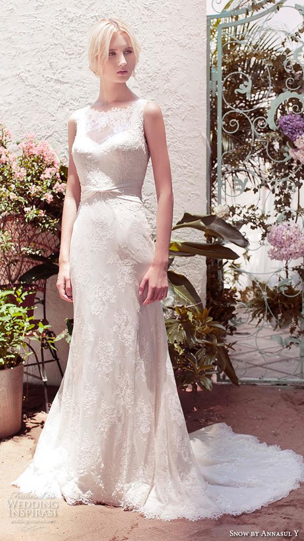 Romantic Lace Wedding Dress 95 Fabulous snow by annasul y