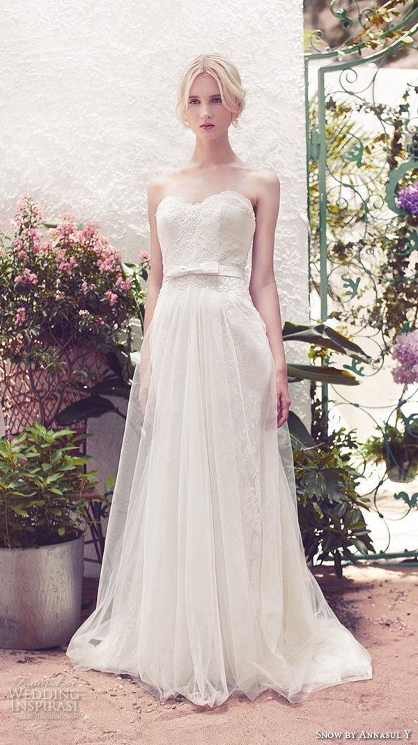 Wedding Dresses By Mary 80 Simple snow by annasul y