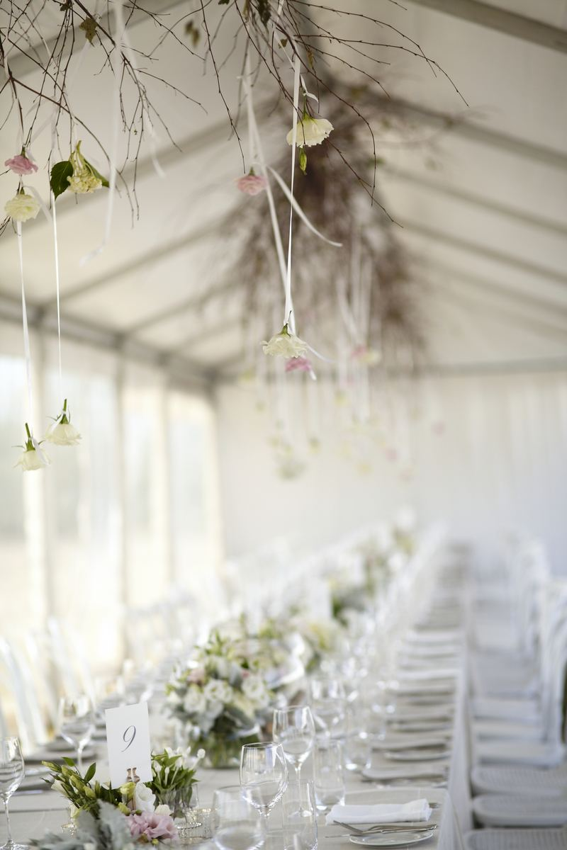 Elegant Lavender Farm Wedding in Australia | Wedding Inspirasi