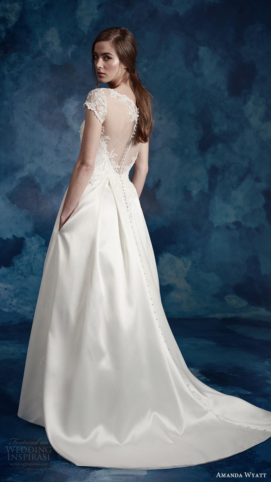 Plus Size Wedding Dresses Wholesale 26 Vintage amanda wyatt bridal cap