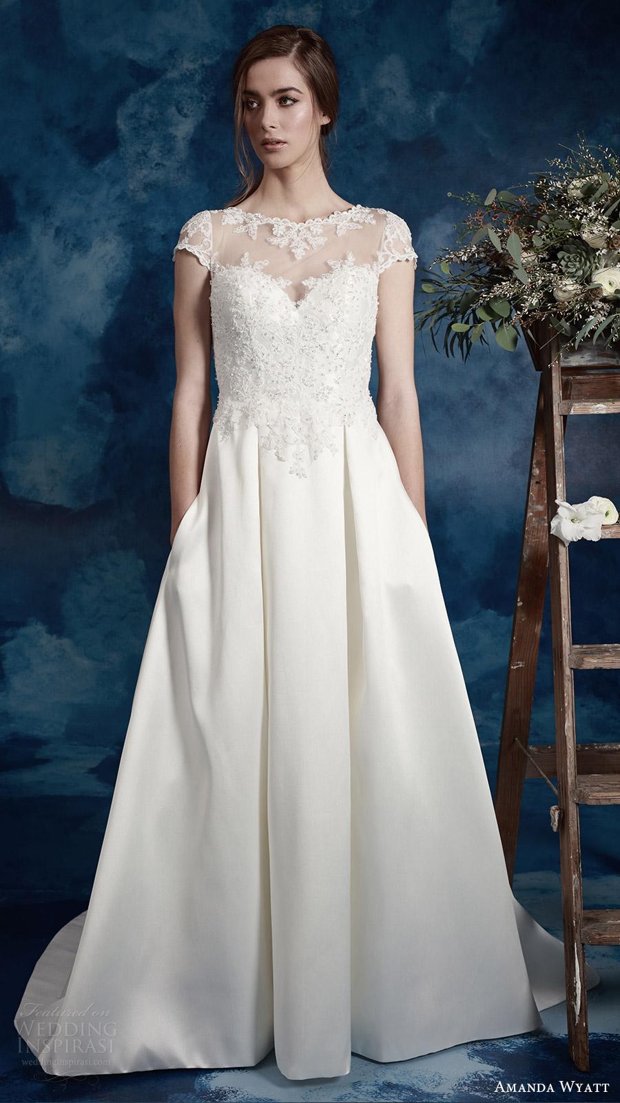 Plus Size Wedding Dresses Wholesale 40 Cute amanda wyatt bridal cap