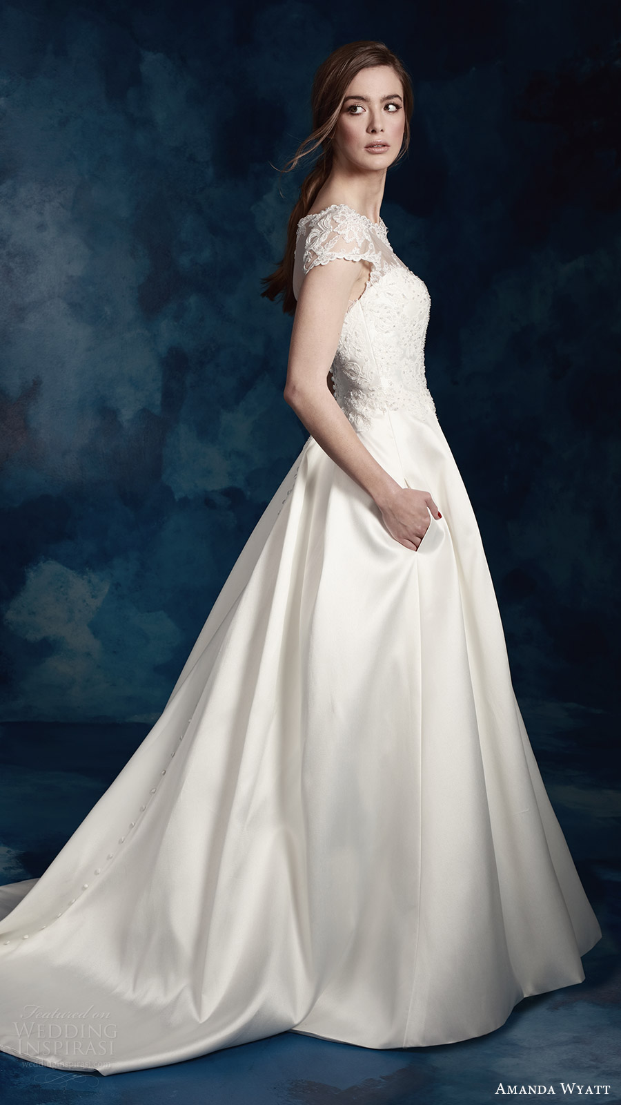 Plus Size Wedding Dresses Wholesale 89 Spectacular amanda wyatt bridal cap