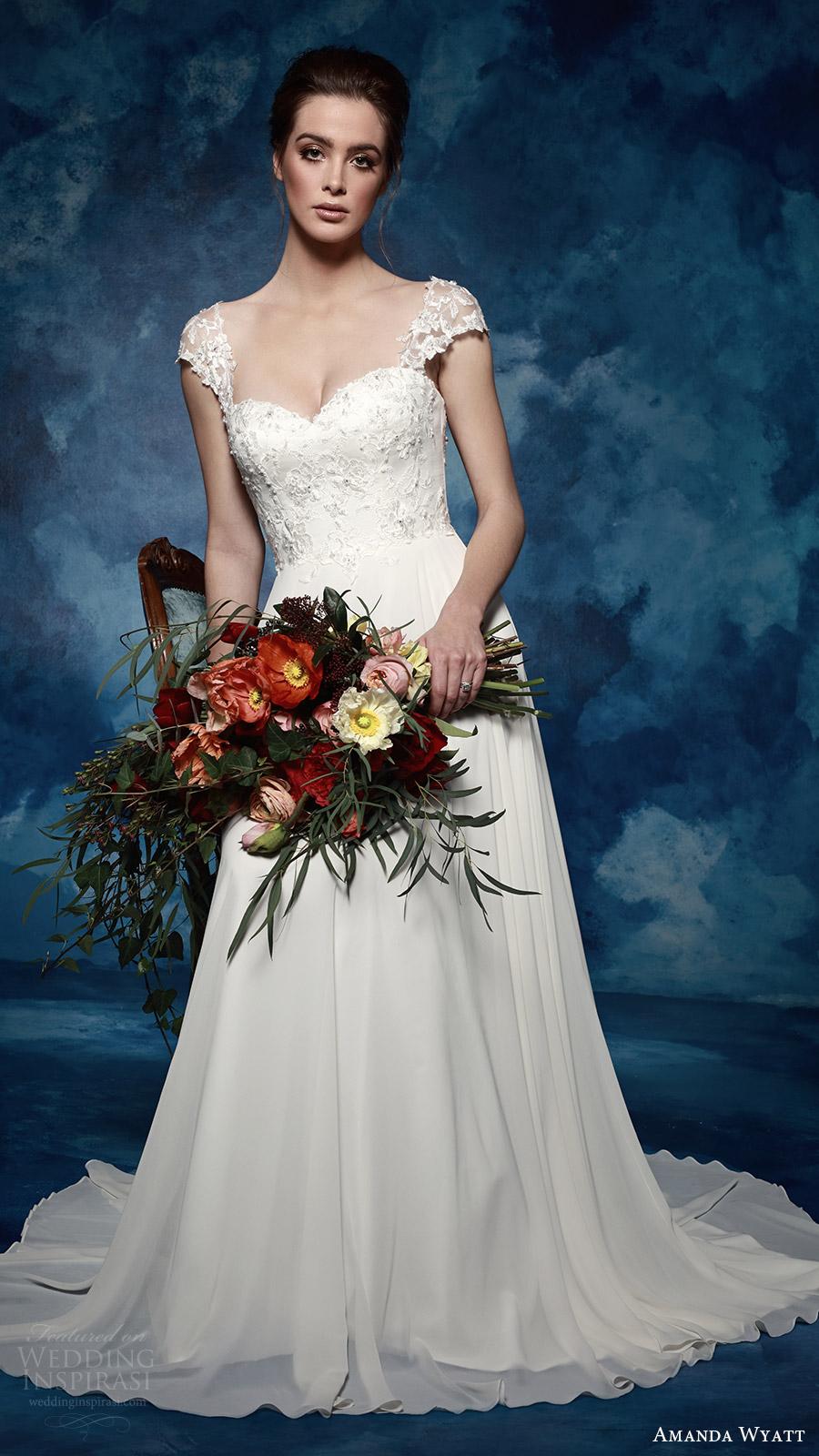"Amanda Wyatt 2017 Wedding Dresses — ""She Walks with ..."