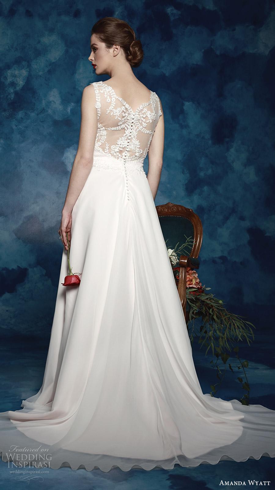 Plus Size Mermaid Wedding Dress 68 Nice amanda wyatt bridal sleeveless