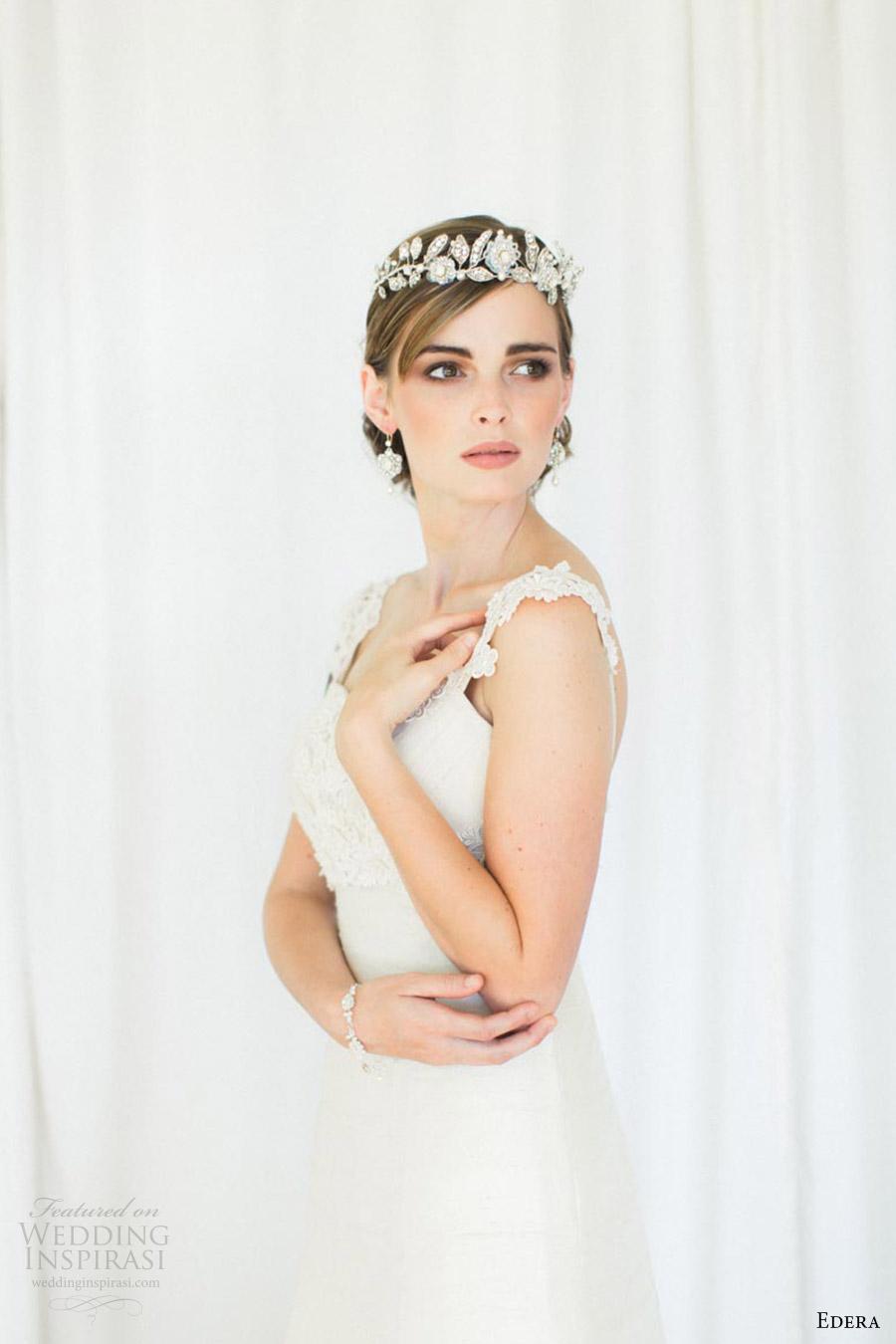 edera jewelry 2016 bridal accessories collection (aquarelle) tiara fv romantic edwardian inspired bride