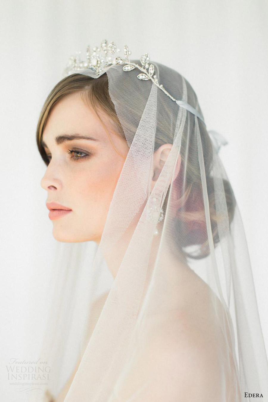 edera jewelry 2016 bridal accessories collection (aquarelle) tiara sv