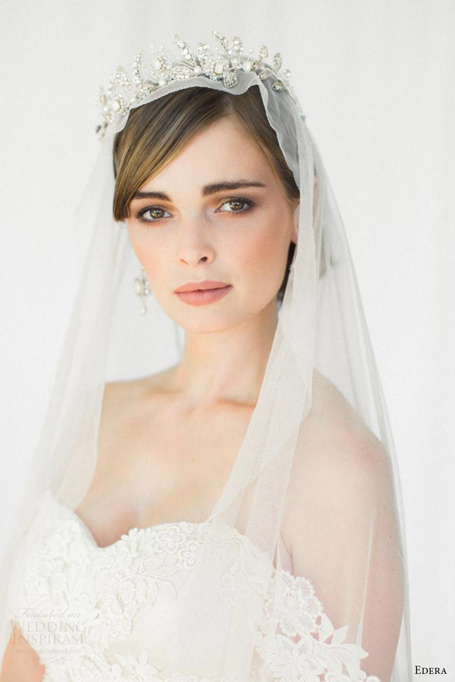 edera jewelry 2016 bridal accessories collection (aquarelle) tiara