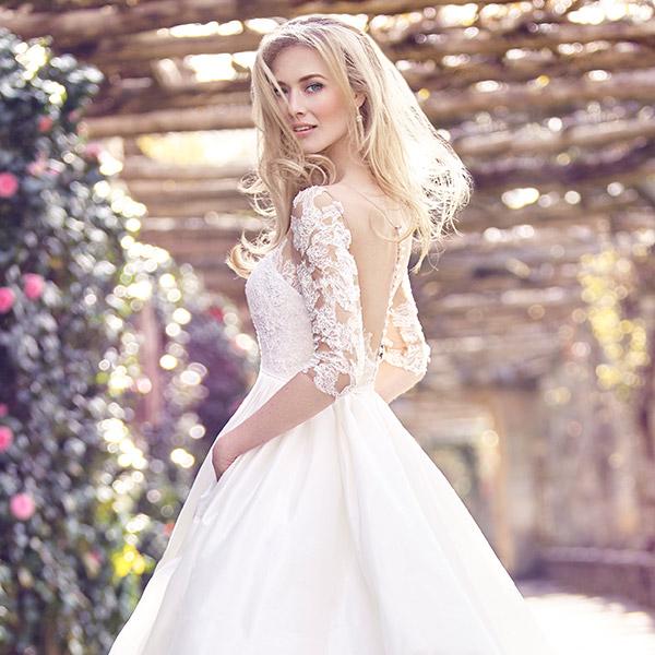 The Bridal Collection Real Bride: Ellis Bridals 2016 Wedding Dresses