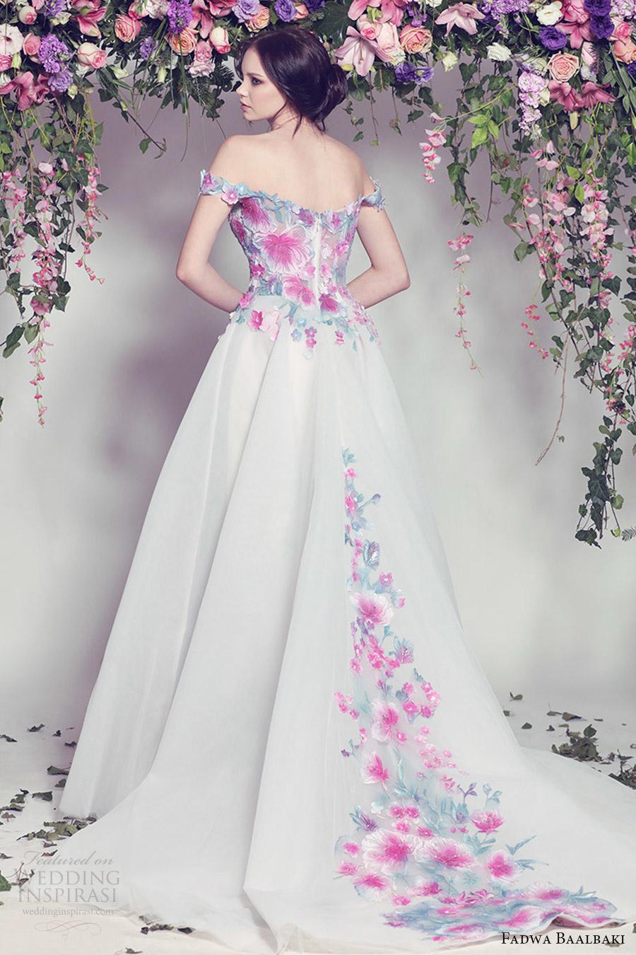Multi Colored Wedding Dresses 61 Epic fadwa baalbaki spring couture