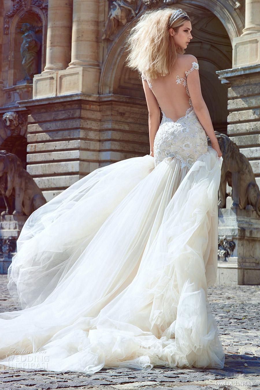 Galia Lahav Couture Fall 2016 Wedding Dresses Ivory