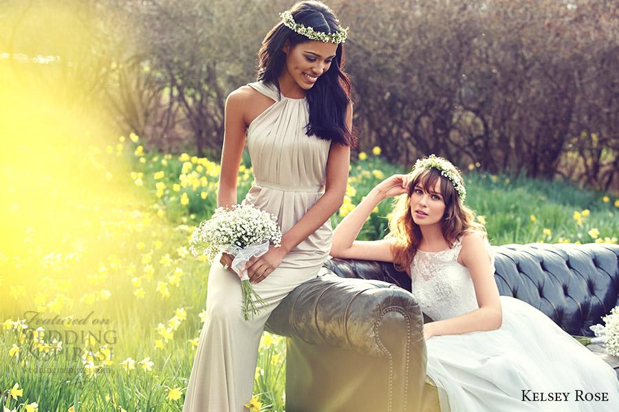 Bridesmaid Dresses Weddings 74 Perfect kelsey rose bridal neutral