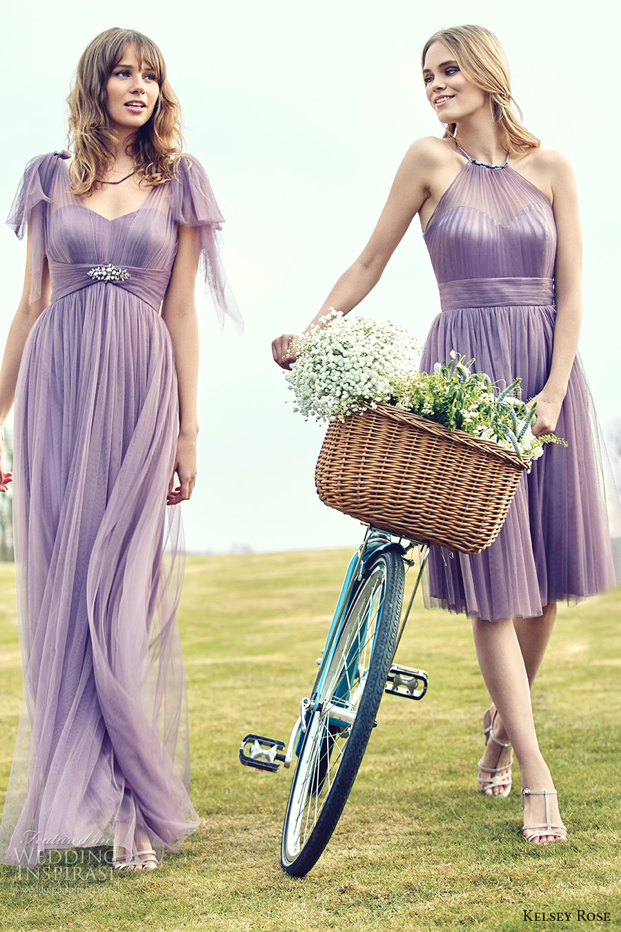 Kelsey rose 2016 bridesmaid dresses pink collection campaign kelsey rose bridesmaids 2016 pastel mix match mismatched bridesmaid dresses lavender wisteria purple lilac mauve romantic ombrellifo Images