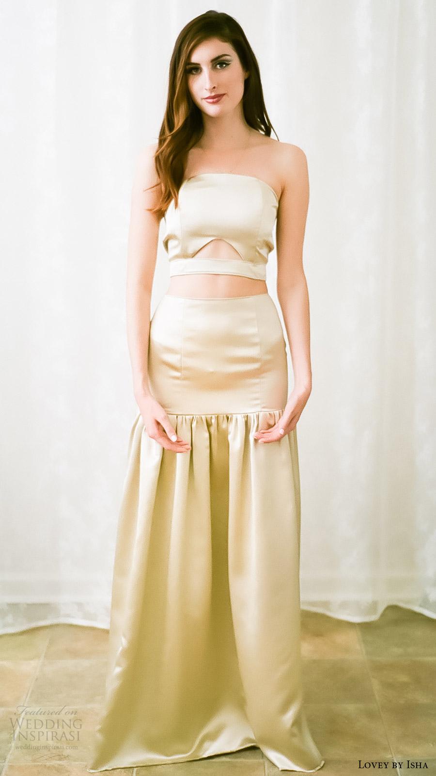 Lovey by isha spring 2016 wedding dresses wedding inspirasi for Usa made wedding dresses