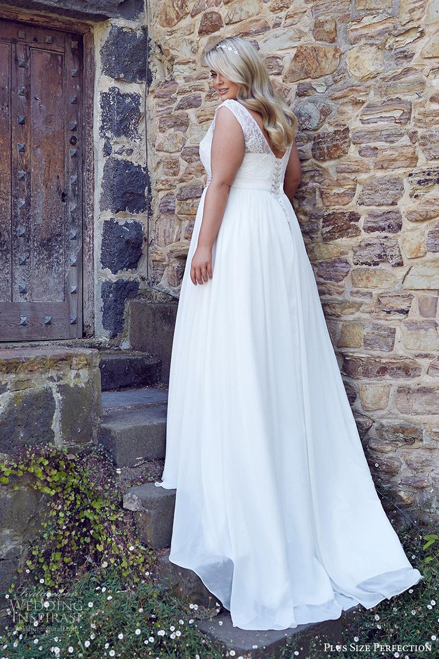Lace Wedding Dress Plus Size 54 Stunning plus size perfection bridal