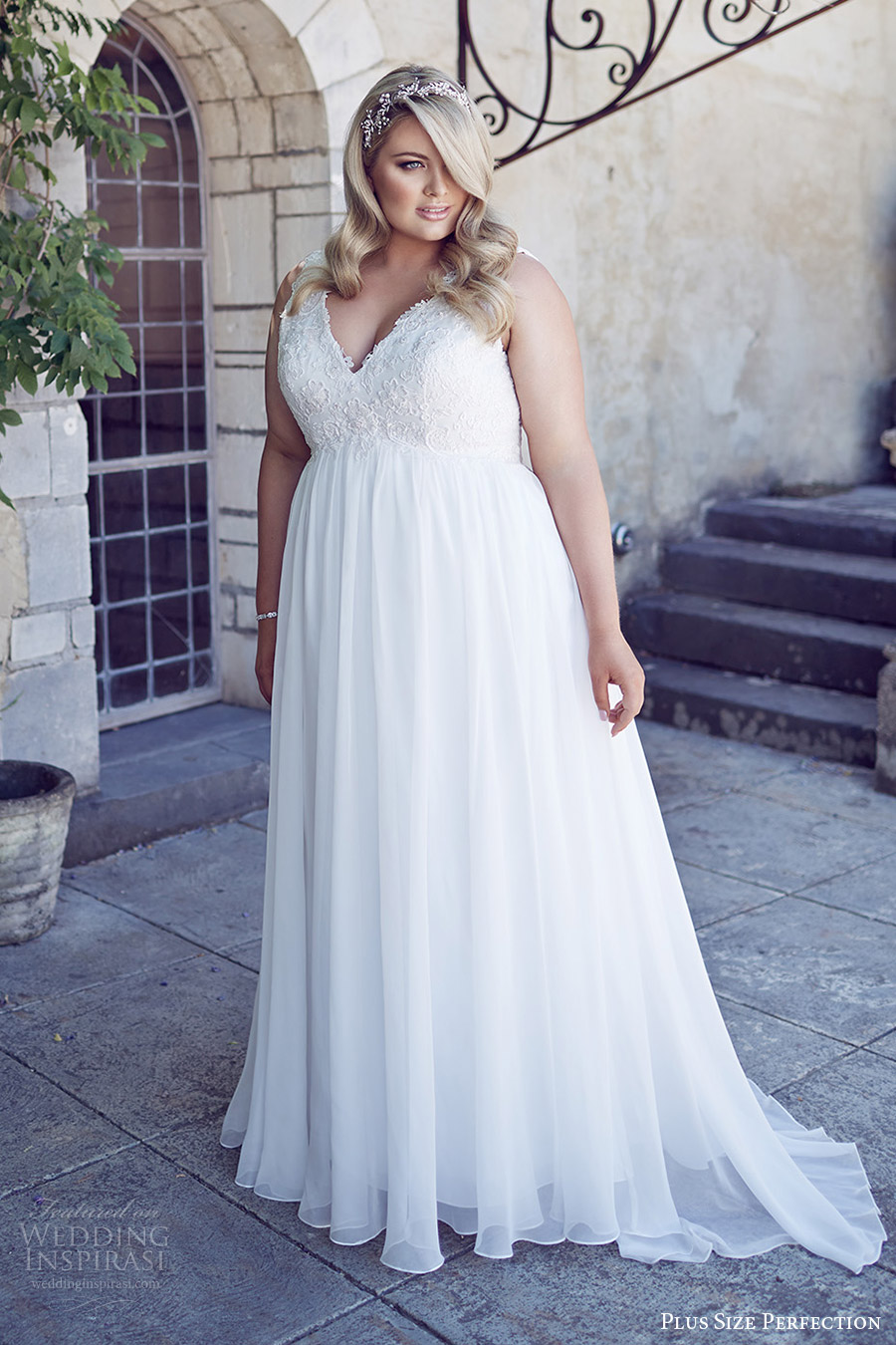 """Plus Size Perfection Wedding Dresses — """"It\'s A Love Story ..."""