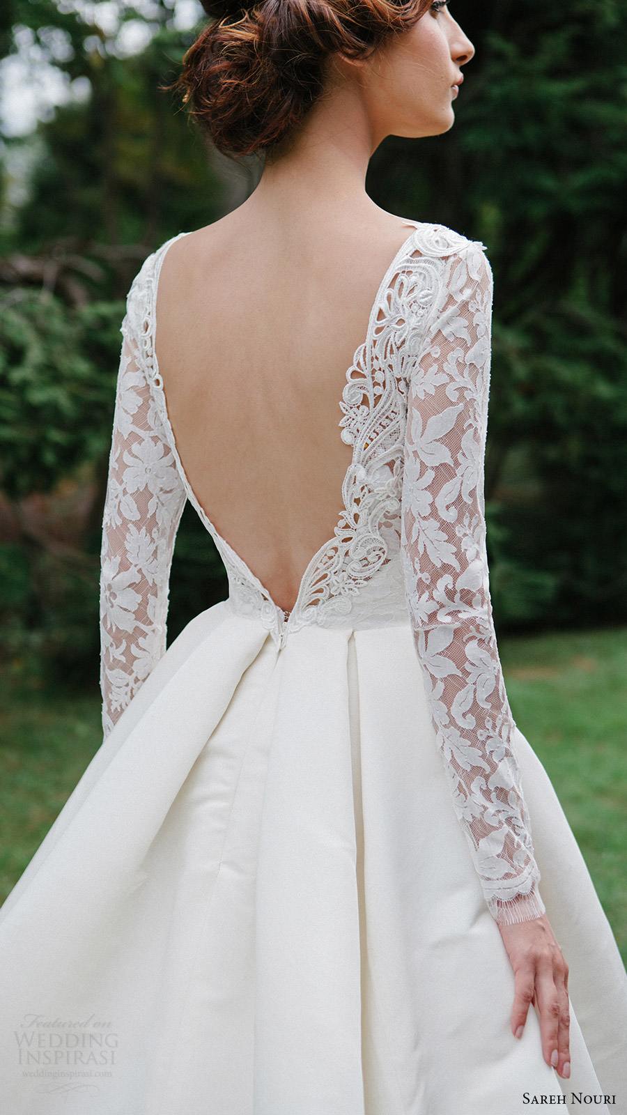 Sareh nouri fall 2016 wedding dresses lookbook wedding for Elegant ball gown wedding dresses