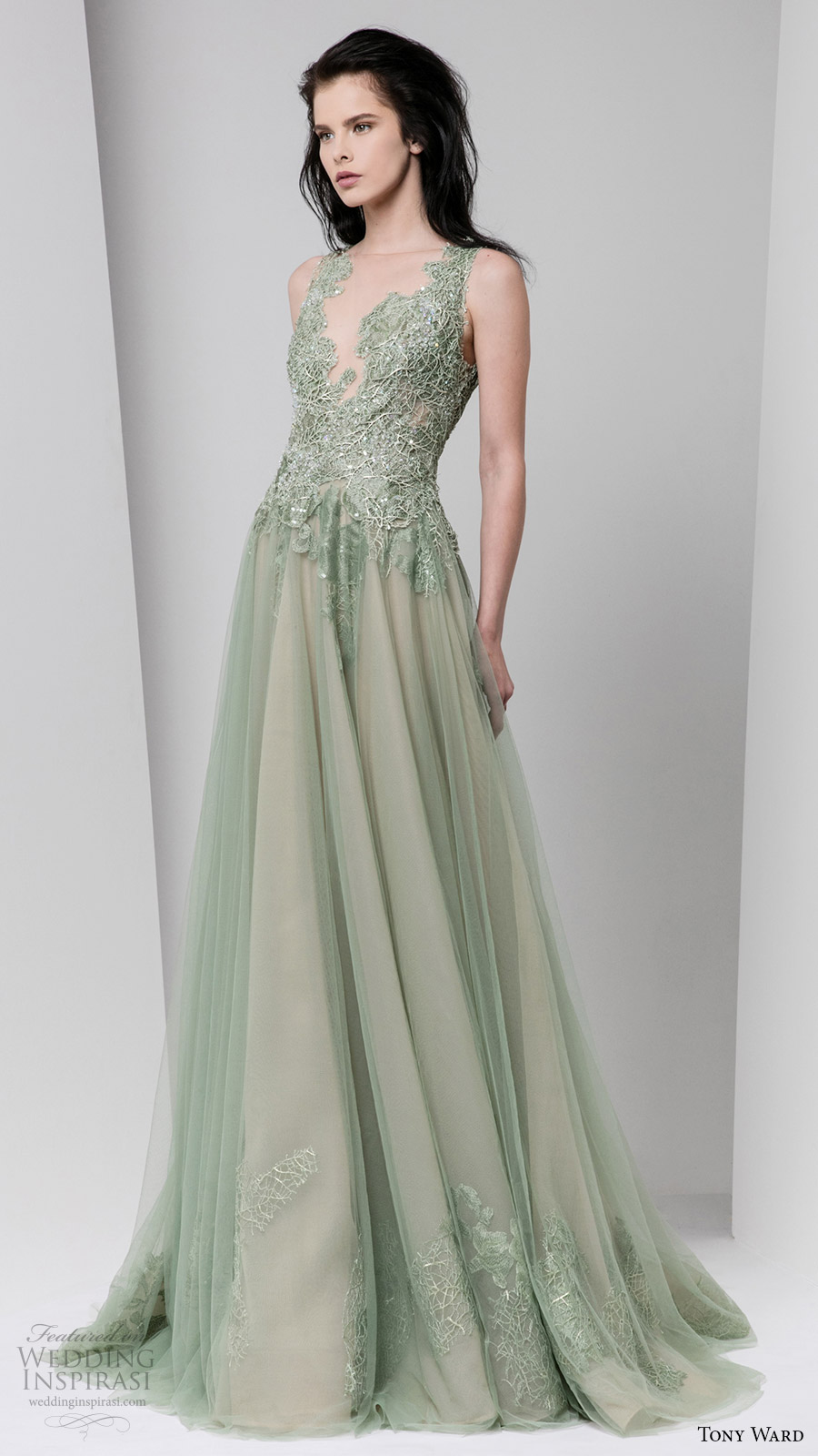 Tony ward fall 2016 ready to wear dresses wedding inspirasi for Dresses for afternoon wedding