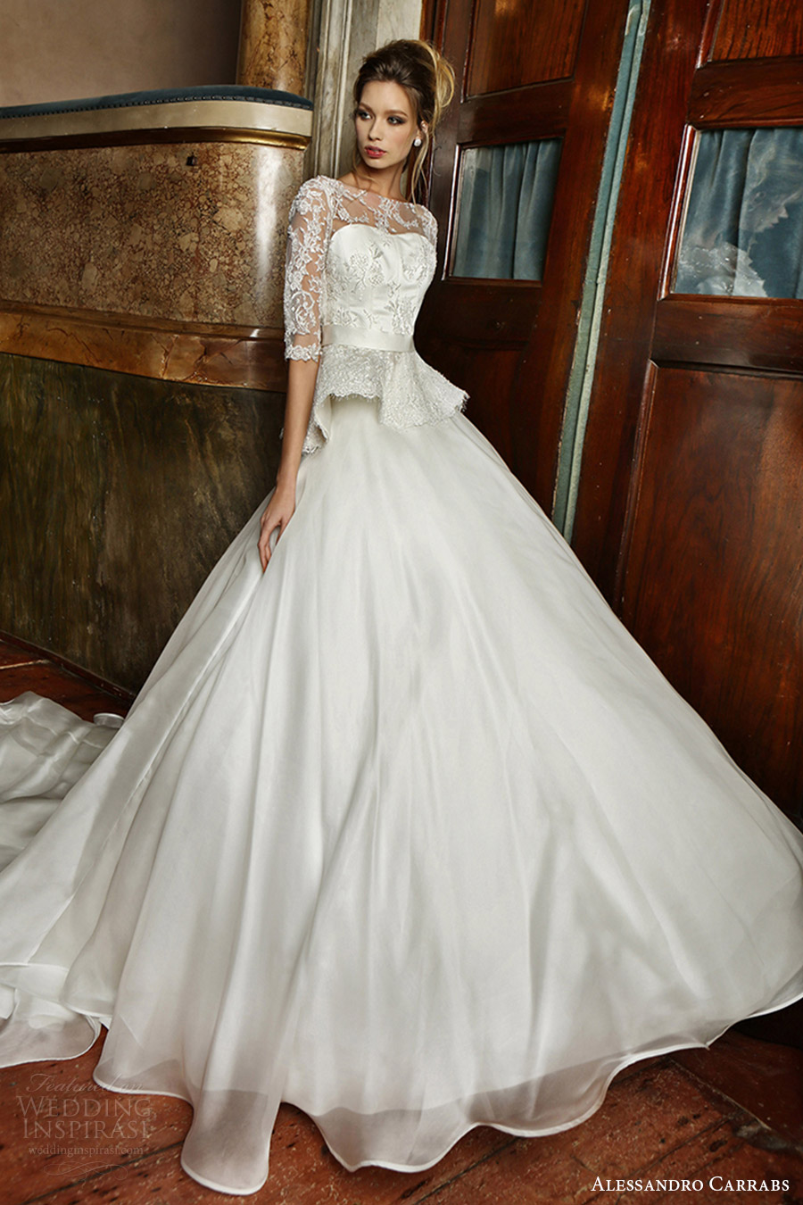 "Alessandro Carrabs 2016 Wedding Dresses — ""Palcoscenico ..."