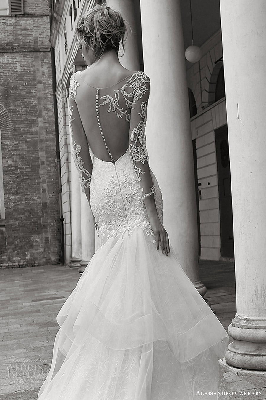 Wedding Gowns Outlet 99 Vintage alessandro carrabs couture bridal