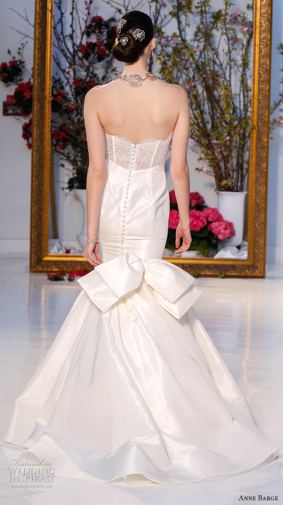 Anne barge spring 2017 wedding dresses wedding inspirasi for Elegant satin wedding dresses