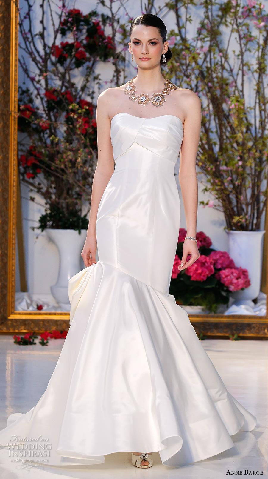 Sweetheart Neckline Mermaid Style Wedding Dresses 78 Cute anne barge spring bridal