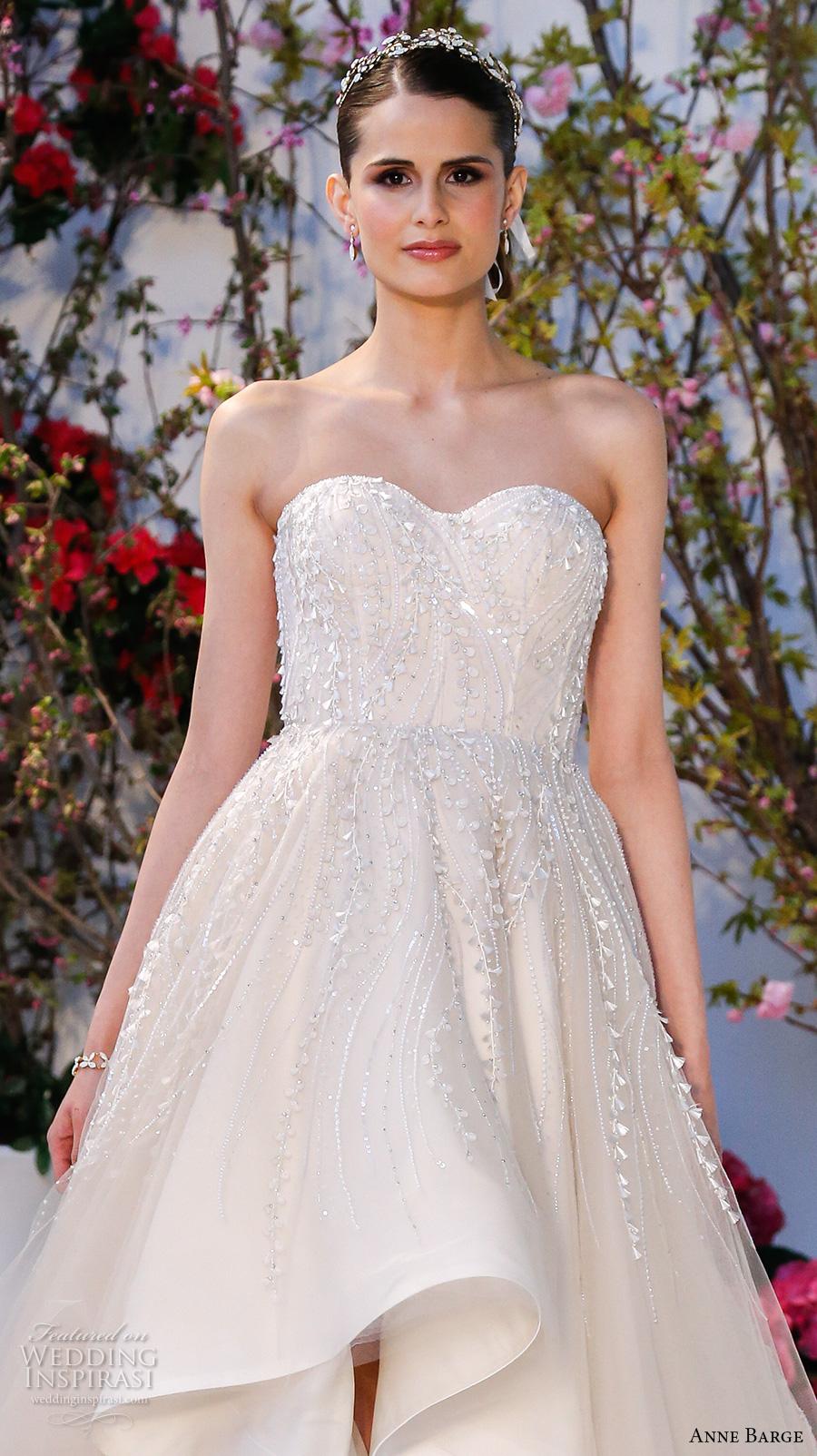 Hi-lo Wedding Dresses 81 New anne barge spring bridal