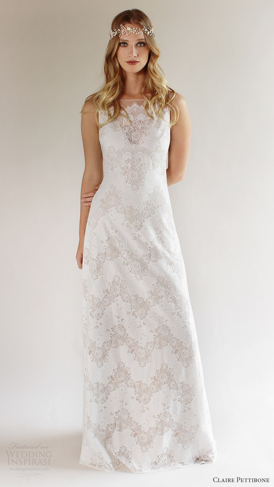 Romantique by claire pettibone spring 2017 wedding dresses for Spring wedding dresses 2017