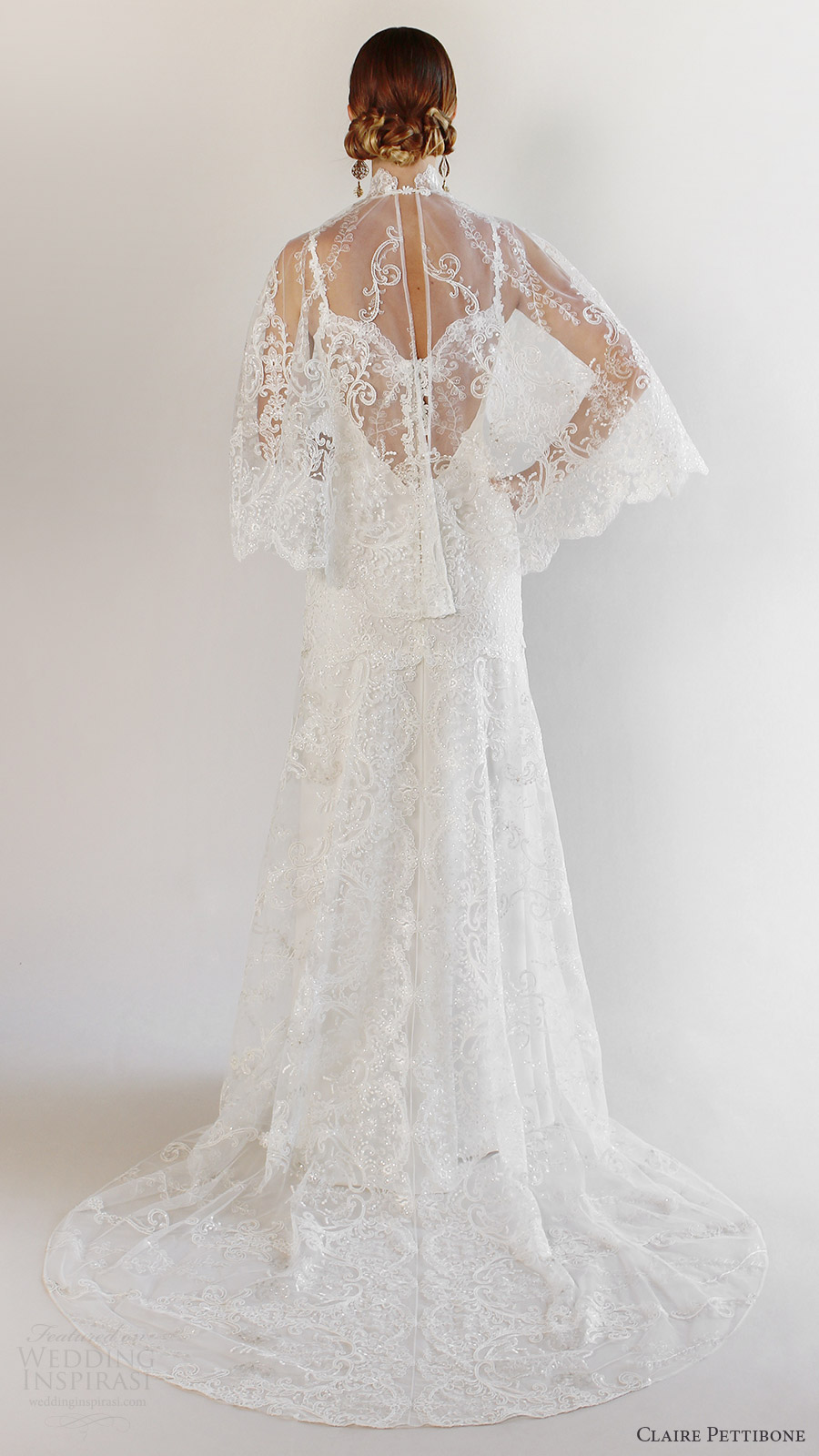 Romantique by Claire Pettibone Spring 2017 Wedding Dresses | Wedding ...