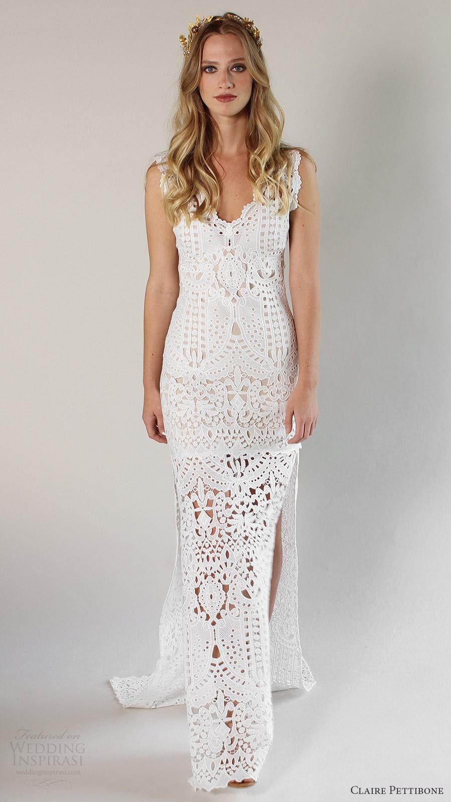 Wedding Dresses California 23 New Romantique by Claire Pettibone