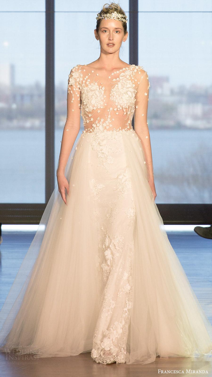 Ethereal Wedding Dresses 78 Beautiful Francesca Miranda Spring Wedding