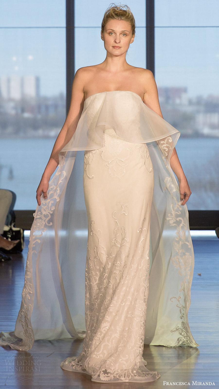 Farrah Wedding Dress 97 Elegant francesca miranda bridal spring