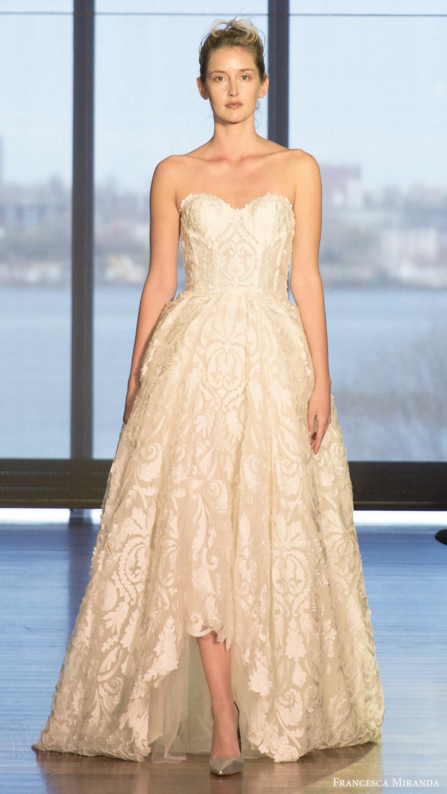 Ball Gown Strapless Wedding Dresses 98 Fresh francesca miranda bridal spring