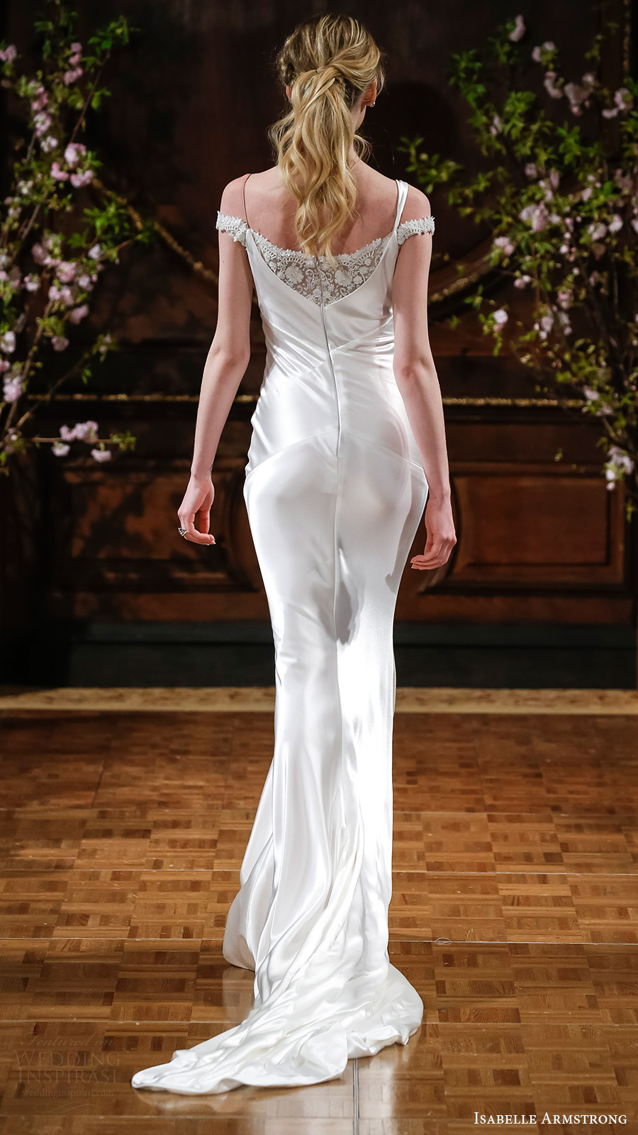 Cowl Wedding Dress
