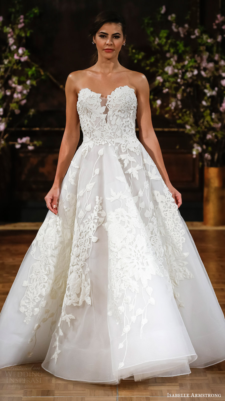 Wedding Dresses 2017 Ideas : Armstrong bridal spring strapless sweetheart aline wedding dress