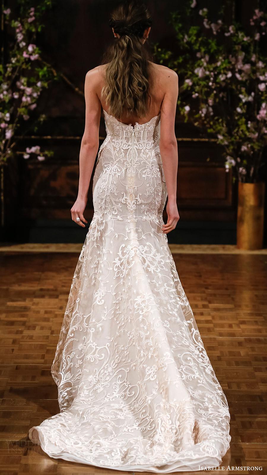 Sweetheart Trumpet Wedding Dresses 39 Popular isabelle armstrong bridal spring
