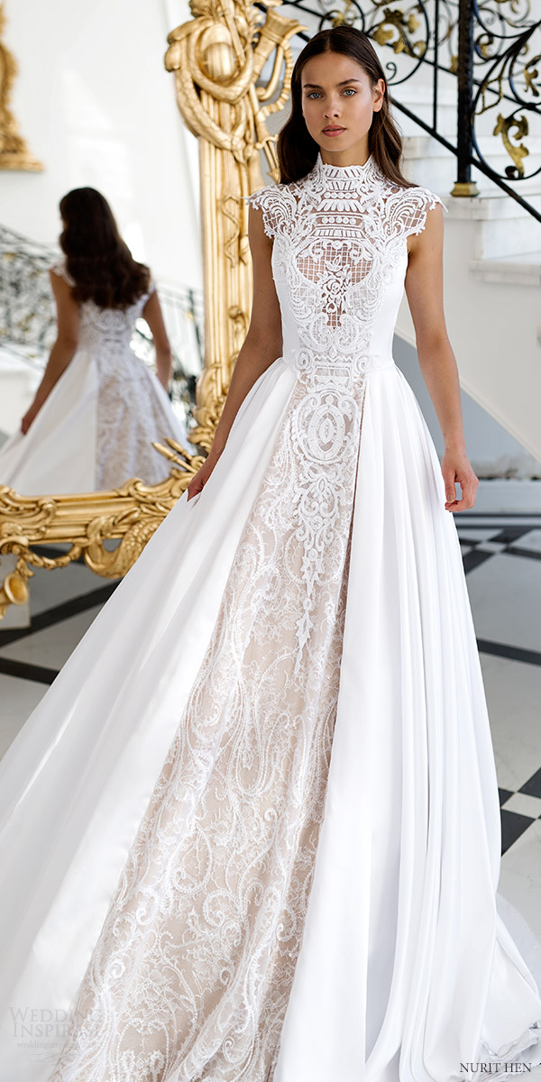 Nurit Hen Royal Couture Wedding Dresses | Wedding Inspirasi
