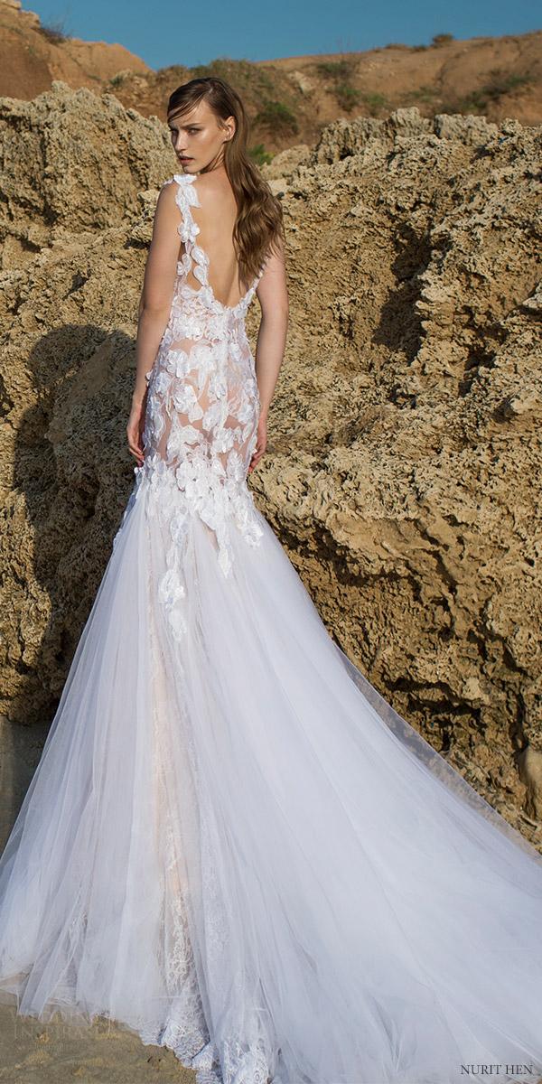 Couture Wedding Dress 21 Nice nurit hen cap sleeves