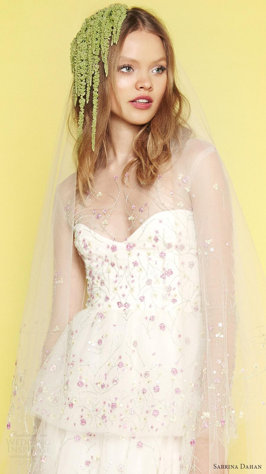 Amelie Wedding Dress 34 Beautiful sabrina dahan bridal spring