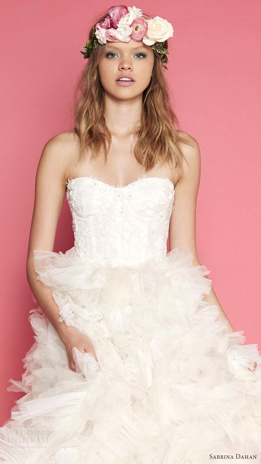 Corset Wedding Dress Patterns 78 Fabulous sabrina dahan bridal spring