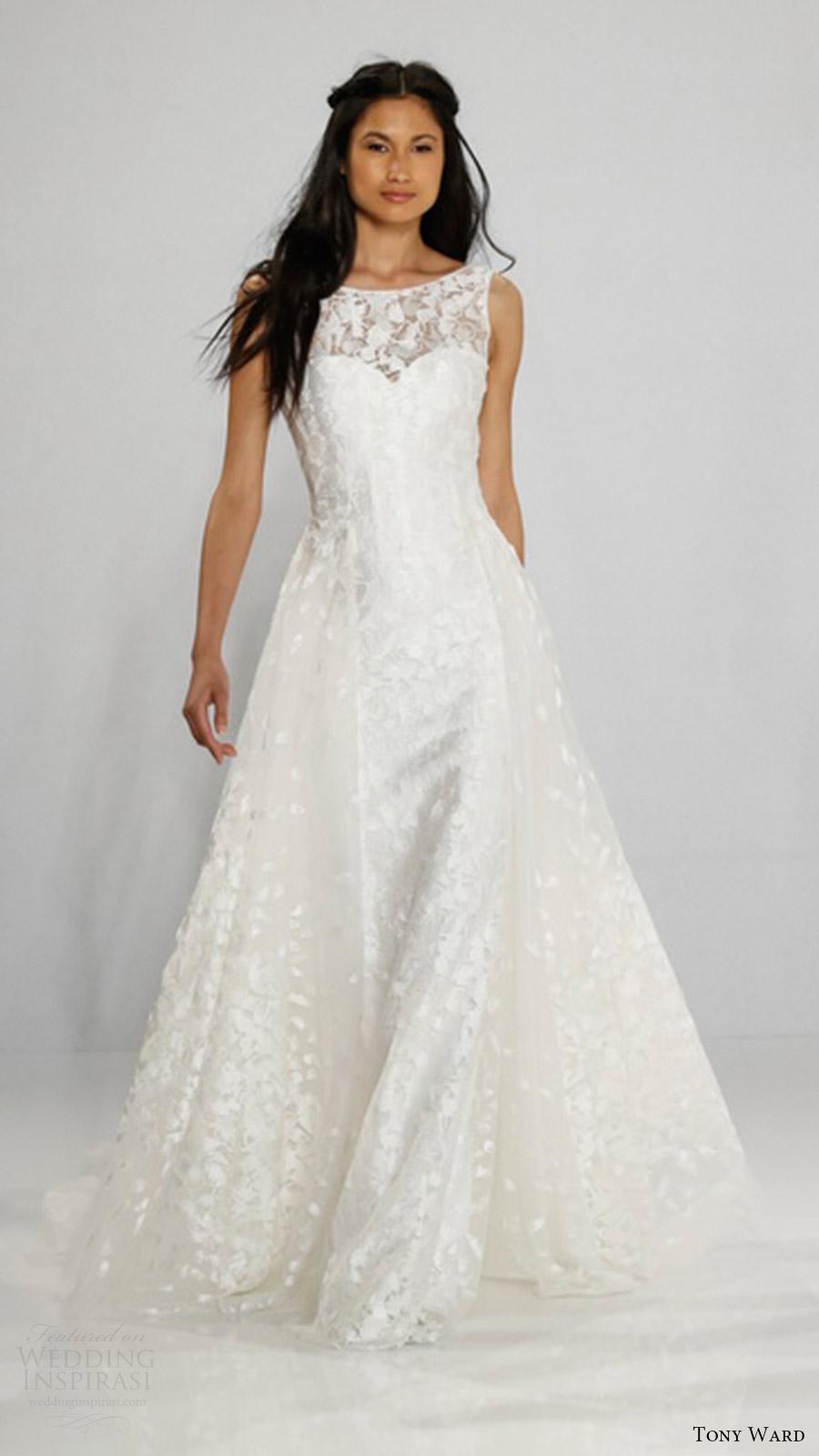 Plus Size Wedding Dresses Nyc 13 Ideal tony ward bridal sleeveless