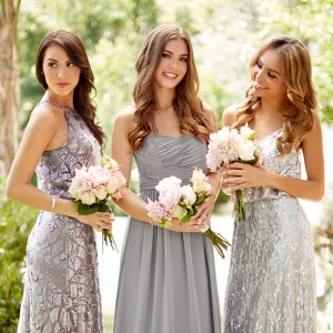 vow to be chic 2016 designer metallic bridesmaid dresses rental