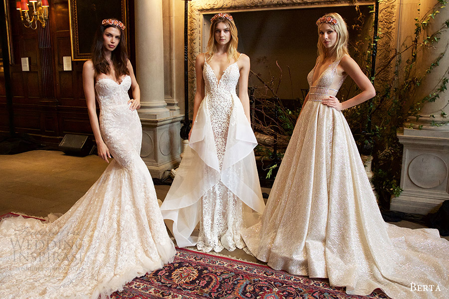 berta bridal fall 2016 wedding dresses collection new york bridal week david paul larson