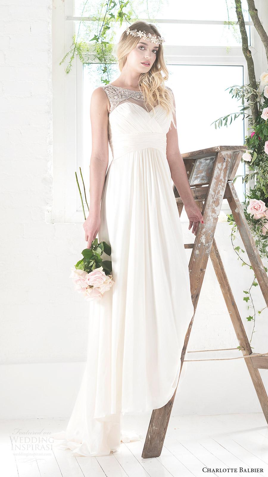 Eden Wedding Dresses 83 Great charlotte balbier bridal sleeveless
