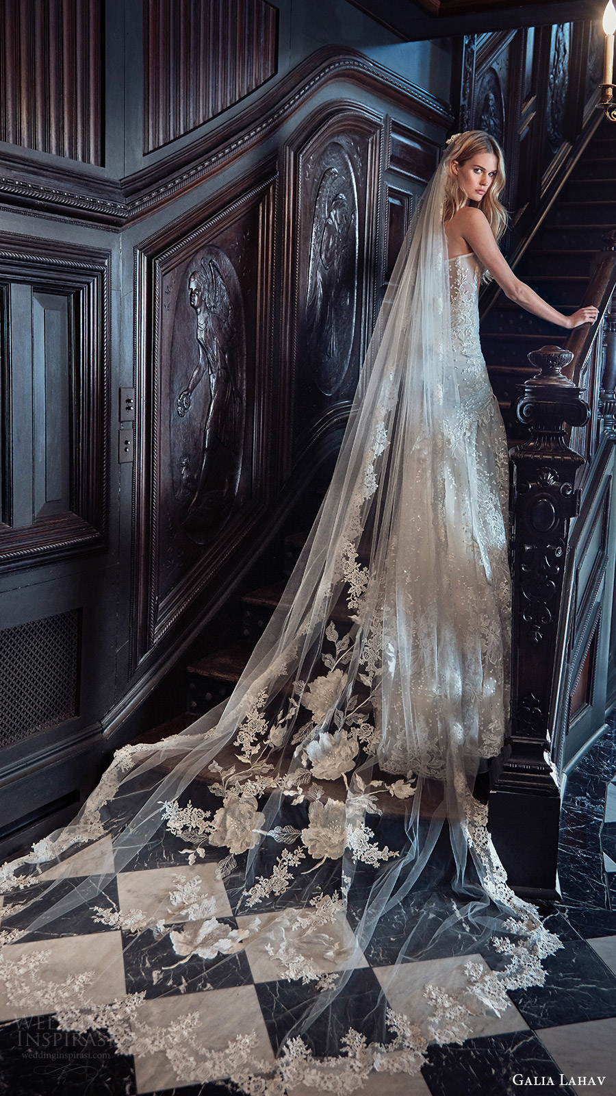 galia lahav bridal spring 2017 louise veil