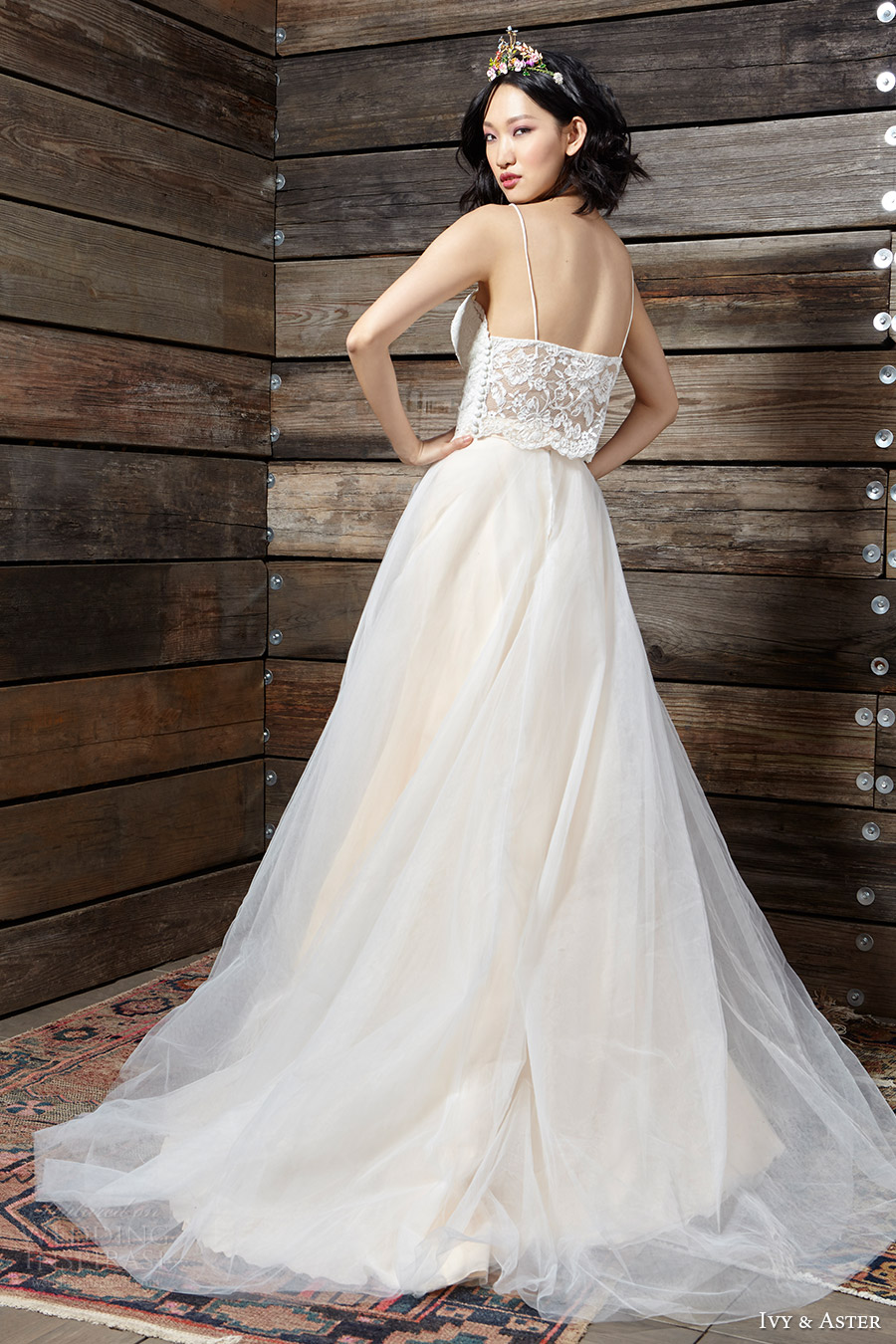 ivy aster bridal spring 2017 lace top ball gown skirt (sadie duchess iii) bv