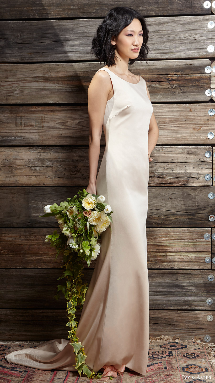 ivy aster bridal spring 2017 sleeveless jewel neck slip wedding dress (sylvia) mv
